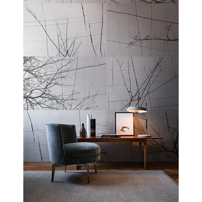 bois d 39 hiver tapeta wall deco. Black Bedroom Furniture Sets. Home Design Ideas