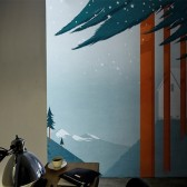 Flag Forest tapeta Wall&Deco