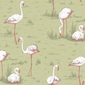 Flamingos tapeta Cole&Son
