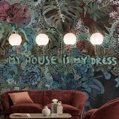 House is My Dress tapeta Wall&Deco