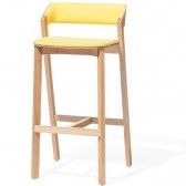 Merano tapicerowane krzesło barowe Ton