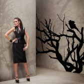 CROW TAPETA WALL&DECO