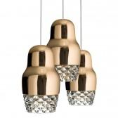 Fedora 3 lampa wisząca Axo Light