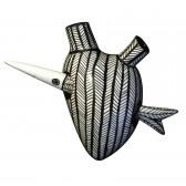In Alto I Cuori Transfish dekoracja Fos Ceramiche