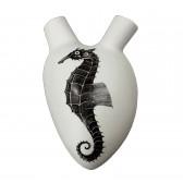 In Alto I Cuori Ippocampo dekoracja Fos Ceramiche