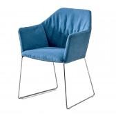 New York krzesło z podłokietnikami Saba Italia